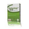 GALASTOP se usa para el tratamiento de la pseudogestación en las perras y para suprimir la lactación en las perras,